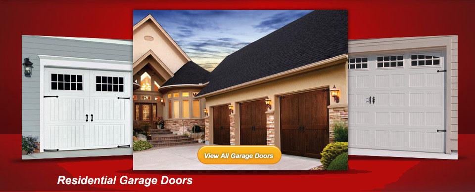Garage door repair sales and service residential garage for Local garage door