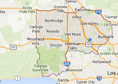 Map Greater La Ca Zip Codes Creativehobby Store